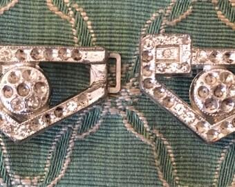 Art Nouveau metal buckle
