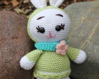 Crochet bunny.Hand made bunny. Easter bunny.Bunny.Easter toys.Gift for kids.easter basket toys.Easter basket.