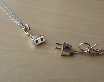 Plug & Outlet  Necklaces