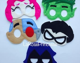 Teen Titans Masks