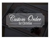 Dinosaurs in Paris, Custom Order for Christine - Bridal Shower Invites and Thank You Cards