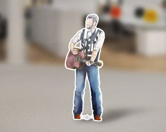 Blake Shelton Sticker Design of Famous Country Singer and Song-writer Blake Shelton. Judge on the Voice and Gwen Stefanie's Husband.