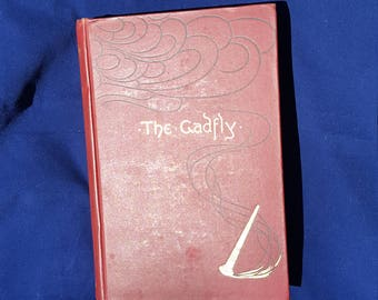 First Edition The Gadfly Leather Bound Book, 1897