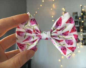 White watermelon Bow