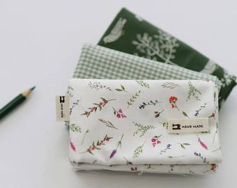 Herb Green - Quarter Fabric Pack 3 Fabric 1set - Sets for 3 each 45 X 55 cm