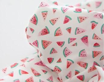 Watermelon Digital Printing Cotton Fabric by Yard