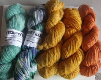 Assorted Bulky Yarn