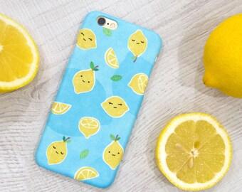 Lemon iPhone 8 Plus case, iPhone 8 case, iPhone 7 case, iPhone 7 Plus case, iPhone 6S case, iPhone 6S Plus case, iPhone X case