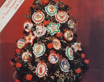 Holiday Trimmings Counted Cross Stitch Ornaments Instruction Book