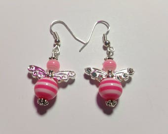 "Earrings ""Candy-Angels Pink 2"""
