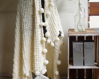 Handwoven Merino Wool blanket