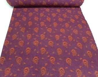 Fabric. Musterwalk Walken Loden ornament pink fuchsia and orange