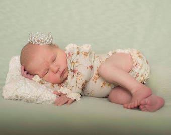 Newborn Floral Romper