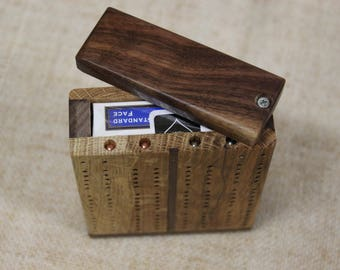 Travel Cribbage Board, Traditional Track
