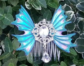 Fairy wing hair clip, wing hair clip, hair clips, hair accessories, fairy wings