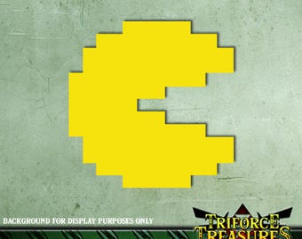 "8-bit ""Pacman"" Sticker / Decal"