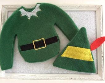 Santa's elf outfit