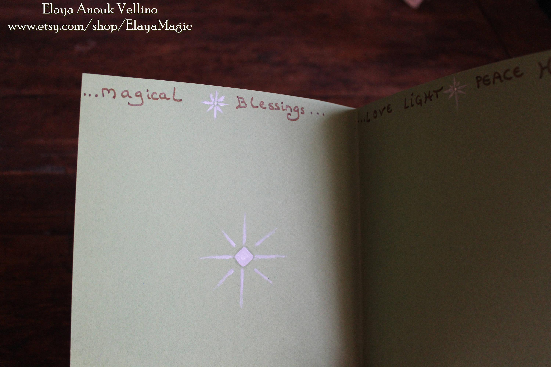 Love moon magic greeting card handmade moon manifestation art one love moon magic greeting card handmade moon manifestation art one of a kind kristyandbryce Images