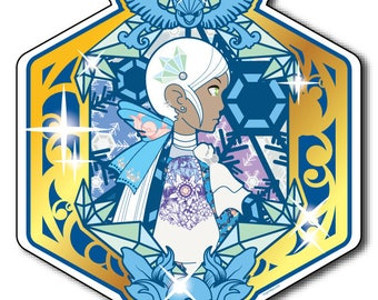 Rococo x Pokemon Go Blanche Team Mystic Vinyl Kiss Cut 2 in inch Sticker Decal Weatherproof for Phone Planner Decoration Peek and Stick
