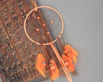 "Dream catcher Nature & Co ""spirit of fire"" orange & Brown"