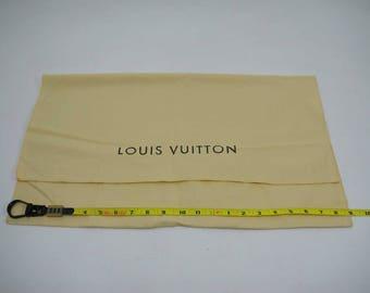 """AUTHENTIC Louis Vuitton Cotton Dust Bag 20.75""""x 12""""  LF011006"""