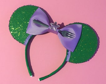 Ariel Little Mermaid inspired mouse ears   Free UK shipping