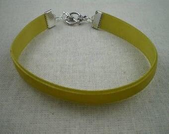 Bra062 - Bracelet simple Green Velvet