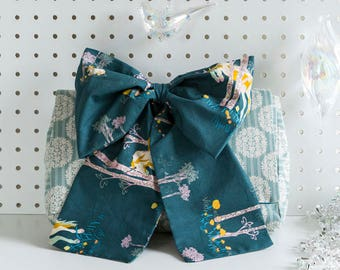 Big bow statement clutch bag - unicorn - kit