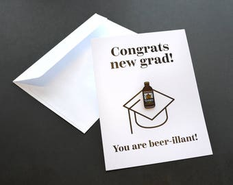 Congrats New Grad Pin Card