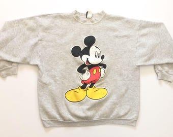 Vtg. Mickey Unlimited 80s Vintage Sweatshirt / Size XL