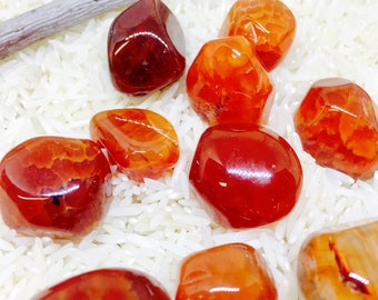 Fireagate polished tumbled Stone. Natural authentic stones. Size 15-20mm.