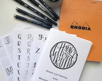 Hand Lettering & Brush Calligraphy Starter Kit