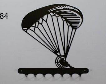Hangs 26 cm pattern metal keys: paramotor