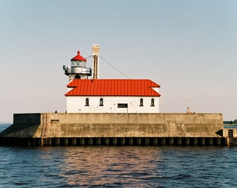 Canal Park Lighthouse on Film