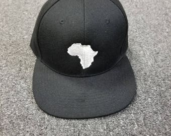 Black history baseball Cap-African map