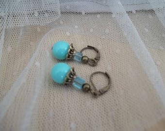 PE41 - earrings - pearls of Oléron Collection-