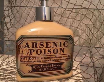 Poison soap dispenser