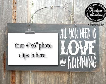 running, gift for runner, running decor, running sign, running gifts, running wall decor, marathon gift, marathon runner, marathon sign, 328