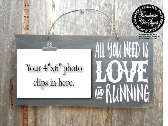 running, gift for runner, running decor, running sign, running gifts, running wall decor, marathon gift, marathon runner, marathon sign, 328
