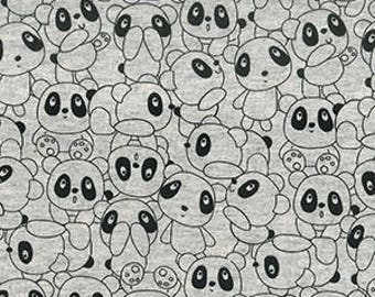 Panda's World Cotton Mix Jersey Stretch Fabric **Baby Nursery Children**