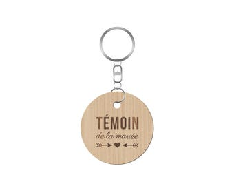 Keychain wedding maid of honor