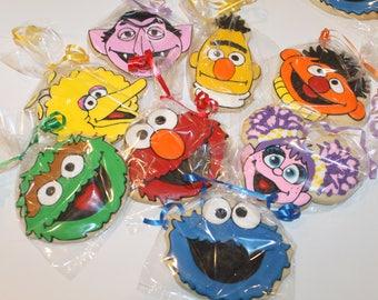 Seasame street cookies 12