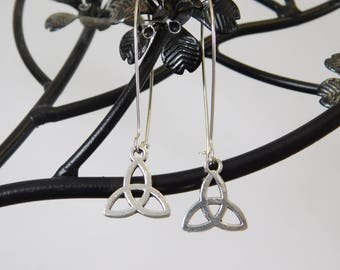 Triquetra Earrings - Wicca - Pagan