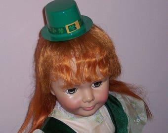 Green Velvet Dress for 36 inch Ideal Patti Playpal Doll