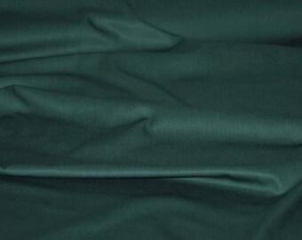 Gabardine Deep Teal - CPauli- Organic Cotton UK Seller