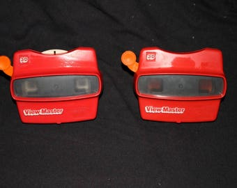 Red 3D View Master, Slide Viewer