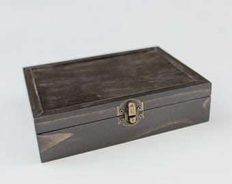 Sale Item- 50ct Hinged Proof Box (holds 50 photos)
