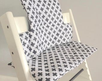 highchair cushion etsy. Black Bedroom Furniture Sets. Home Design Ideas