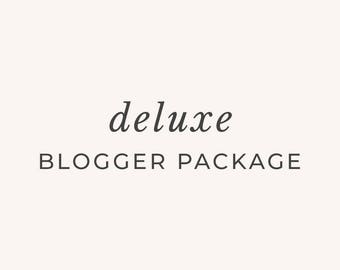 Deluxe Blogger Package