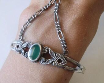 925 slave bracelet sterling silver ring Sterling bracelet vintage
